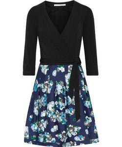 Diane von Furstenberg | Jewel Stretch-Jersey Andprint Wool And Silk-Blend