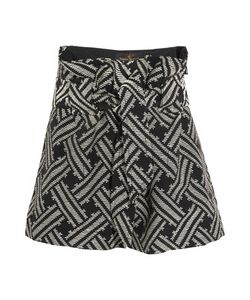 Vivienne Westwood Anglomania | Kung Fu Belted Cotton-Blend Jacquard Shorts