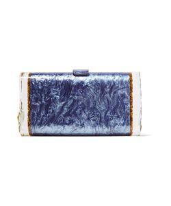 Edie Parker | Lara Backlit Glitte Acrylic Box Clutch