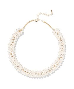 Kenneth Jay Lane | Tone And Faux Pearl Choker