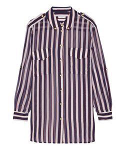 Equipment | Major Striped Silk-Chiffon Shirt