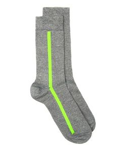 Topman | Mens And Neon Stripe Socks