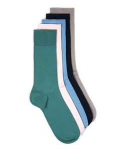Topman | Mens Multi Assorted Pastel Colour Socks 5 Pack