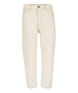 Topman | Mens Cream Design Off Cropped Jeans