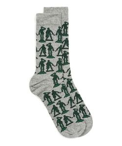 Topman | Mens Marl Toy Soldier Motif Socks