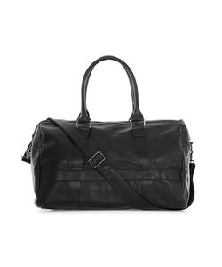 Topman | Mens Faux Leather Holdall Bag