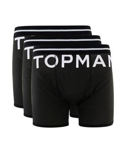Topman | Mens Logo Trunks 3 Pack