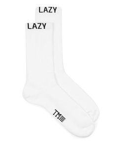 Topman | Mens Lazy Slogan Tube Socks