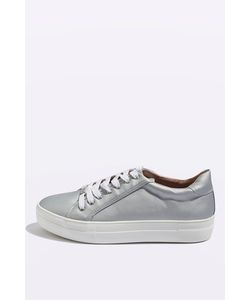 TopShop | Crystal Flatform Lace Up Trainers