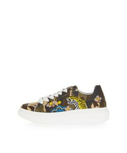 TopShop | Timmy Camouflage Tiger Trainers