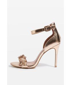 TopShop | Mylene Flower Skinny Sandals