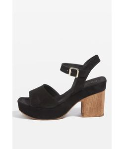 TopShop | Violets Leather Sandals