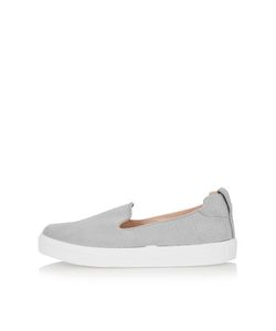 TopShop | Anaconda Effect Slip On Trainers