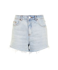 TopShop | Moto Bleach High Waisted Shorts