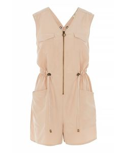 TopShop | Lace Up Back Utility Playsuit By Jaded London