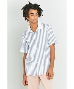 Soulland   Cornwall Stripe Printed Shirt