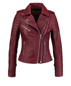 Goosecraft | Perfecto Leather Jacket Burned