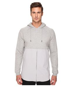 Publish | Fedde Premium Heather Terry Hoodie With Fabric Blocked