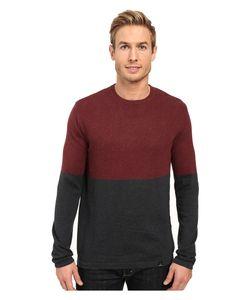 PRANA | Color Block Sweater Dark Umber Sweater