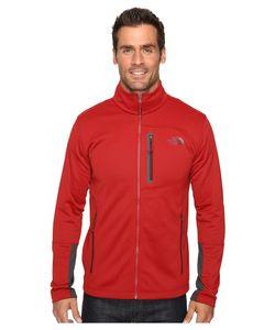 The North Face   Canyonlands Full Zip Sweatshirt Cardinal