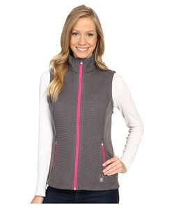 Spyder | Melody Full Zip Mid Weight Core Sweater Vest Weld/Voila