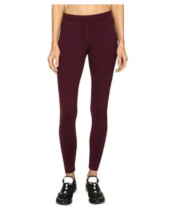 Monreal London | Biker Leggings Rouge Noir Casual Pants