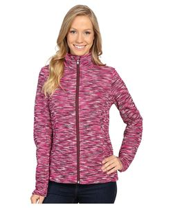 Spyder | Endure Space Dye Full Zip Mid Weight Core Sweater