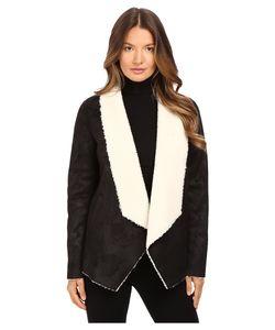 The Kooples   Gilet In Faux Treated Sheepskin Coat