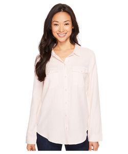 Calvin Klein Jeans | Basic Denim Shirt Muted Rose Womens Long