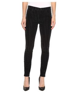 Hudson | Nico Mid-Rise Super Skinny Jeans In Linear Linear