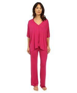 Natori | Shangri-La Tunic Pj Fuchsia Womens Pajama Sets