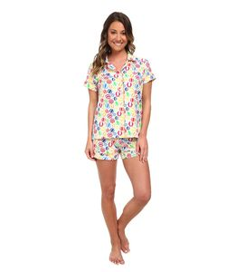 Bedhead | Shorty Pj Stretch Beach Balls Womens Pajama Sets