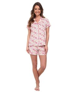 Bedhead | Shorty Pj Stretch Light Lifesavers Womens Pajama Sets