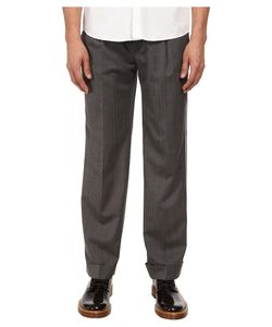 Marc Jacobs | Strictly Striped Cuffed Pant Asphalt Combo Mens Casual
