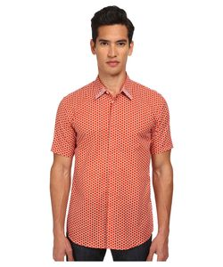 Marc Jacobs | Slim Fit Large Honeycomb Print S/S Button Up
