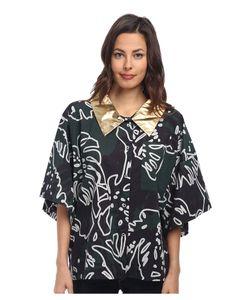 Vivienne Westwood | Hawaiian Elephant Shirt Forest/Grey Cheeseplant Womens Clothing