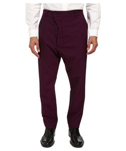 Vivienne Westwood | Classic Wool Alcoholic Trouser Mens Casual Pants