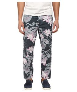 Armani Jeans | Drop Crotch Printed Pant Floral Mens Casual