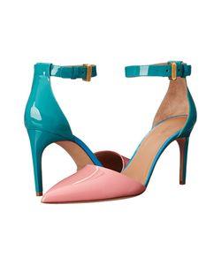 Calvin Klein Collection | Brianna Bubblegum/Wintergreen/Blueberry Patent High Heels