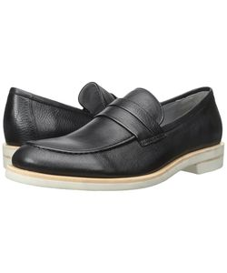 Calvin Klein | Yurik Waxy Leather Mens Dress Flat Shoes