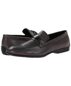 Calvin Klein | Vick Leather Mens Slip On Shoes
