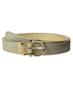 Salvatore Ferragamo | 23b294 Oro Opaco Womens Belts