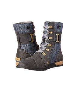 SOREL | Major Carly Graphite/Shark Womens Cold Weather Boots