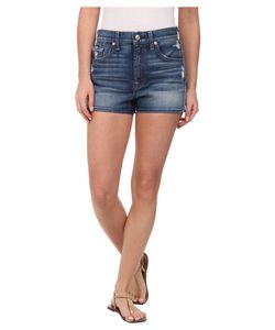 7 For All Mankind | Extreme High Waist Shorts W/ Clean