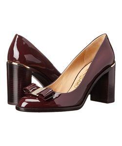 Salvatore Ferragamo | Luna 85 Rouge Noir High Heels