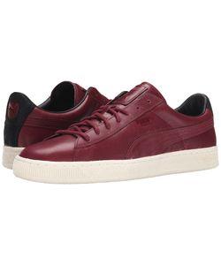 Puma | Basket Citi Series Cabernet/Cabernet/Cabernet Mens Lace Up Casual Shoes