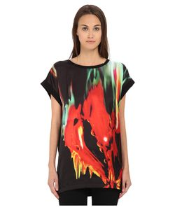 Just Cavalli | Print Front Tunic/Tee W/ Jersey Back Black Variant