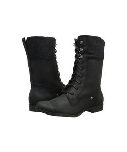 Hush Puppies | Fidda Maisie Wp Leather Womens Lace-Up Boots