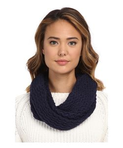 UGG | Sequoia Twisted Solid Knit Snood Peacoat Scarves