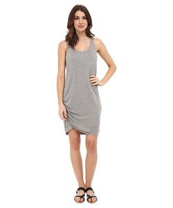 Michael Stars | Micro Modal Scoop Neck Racerback Dress Heather Grey